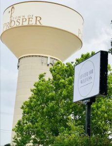 Prosper, TX water tower